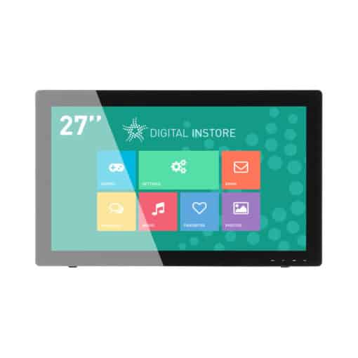 Ecran tactile 27 pouces interactif multitouch