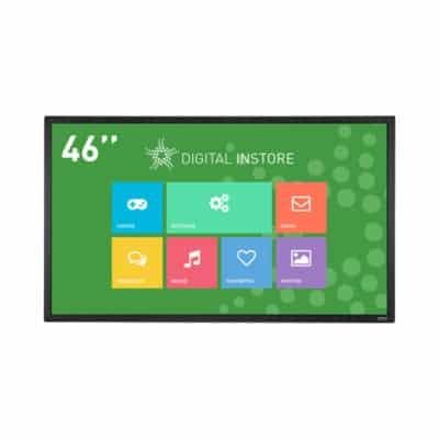 Ecran tactile 46 pouces interactif multitouch