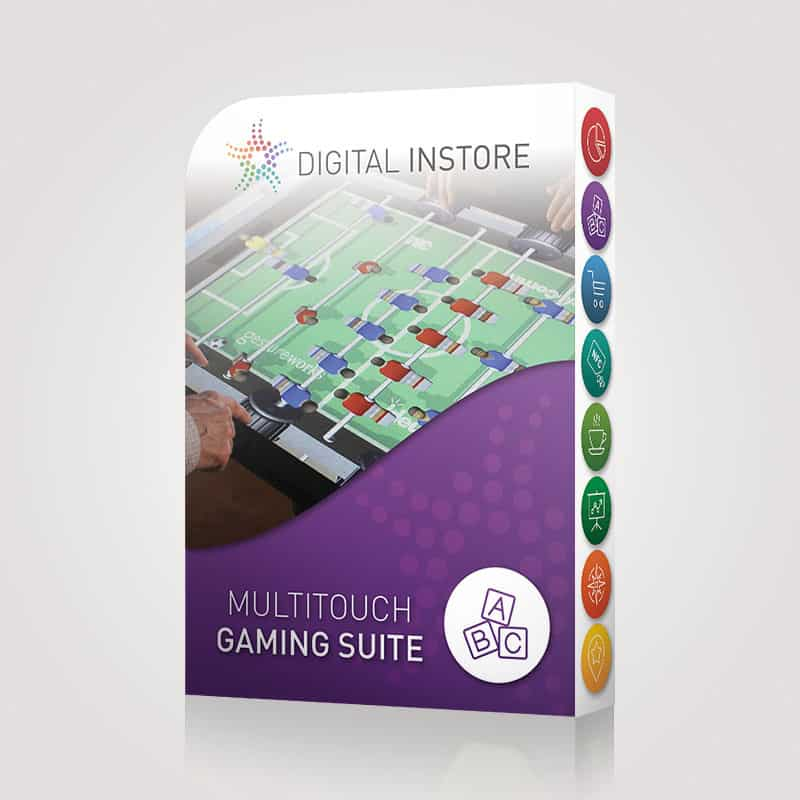 Licence Multitouch Gaming Suite