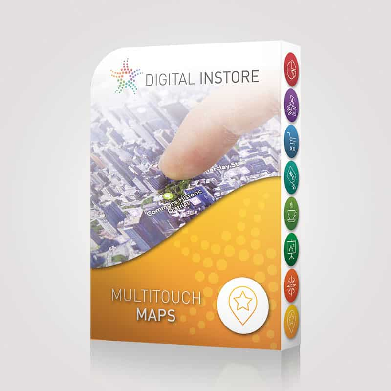 Licence Multitouch Maps