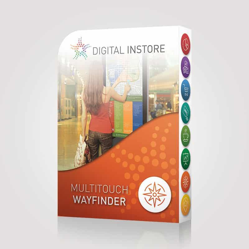 Licence Multitouch Wayfinder