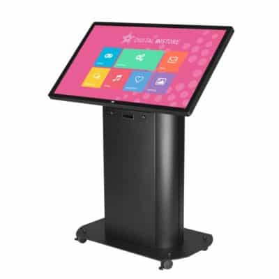 Borne interactive 55 pouces multitouch