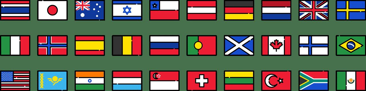 Digitalisation mondiale pays