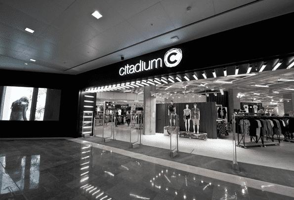 Citadium magasin connecté tactile