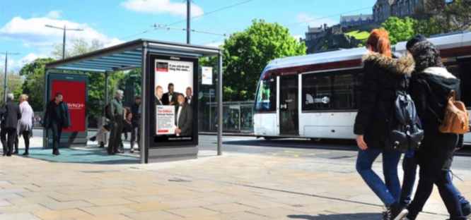 Ecosse : les abribus interactifs d'Edimbourg