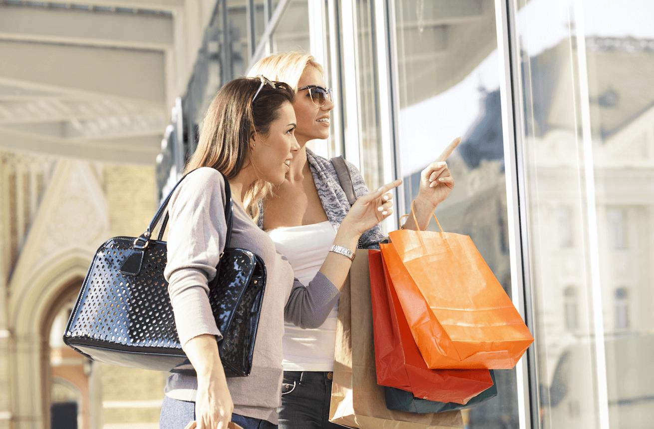 Vitrine digitale point de vente