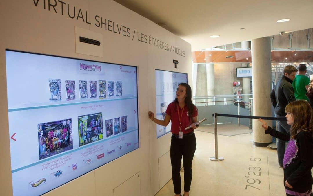 La digitalisation boosteur de trafic en magasin