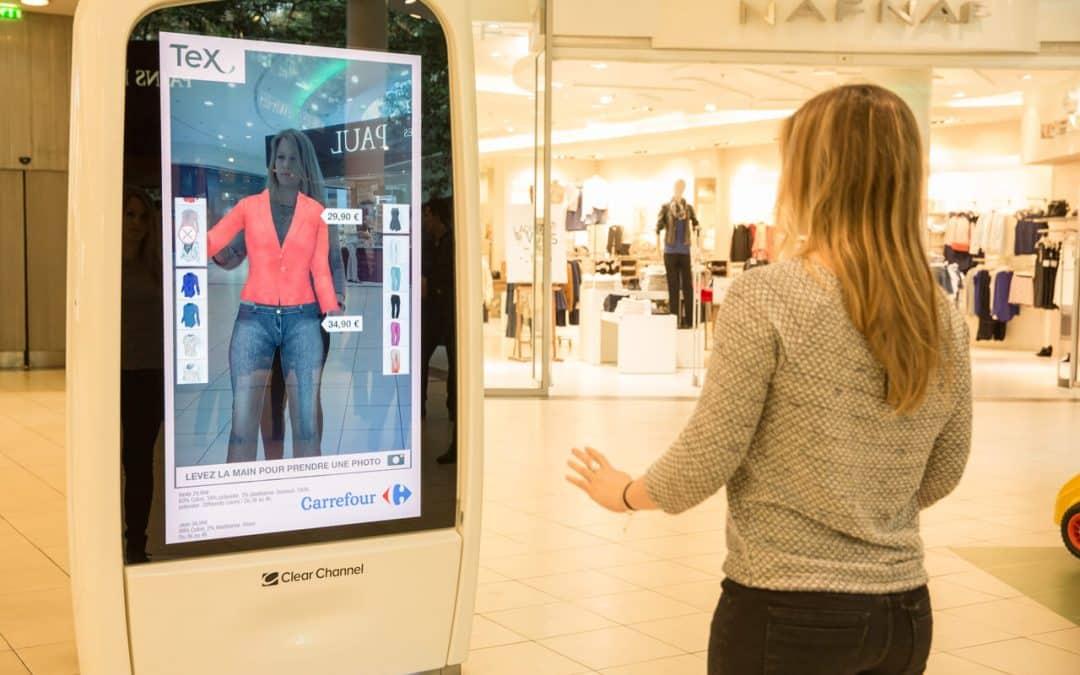 La garde-robe digitale : quand le virtuel pénètre le réel