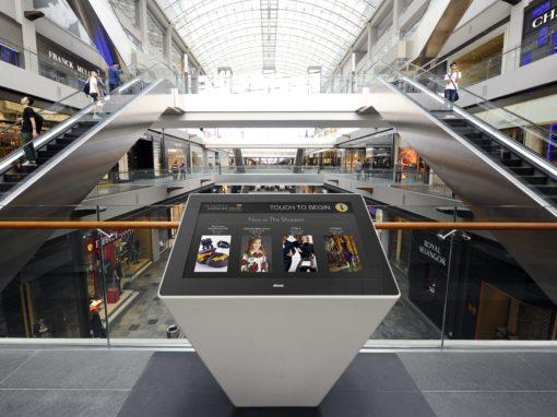 Wayfinder : aider les consommateurs à se repérer dans le centre commercial de Singapour