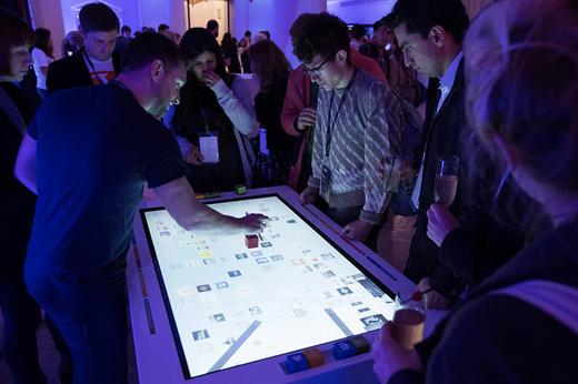 Location borne tactile interactive événement salon professionnel