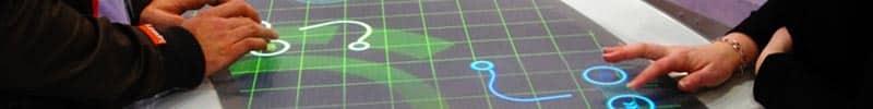 Ecran tactile 55 pouces multitouch