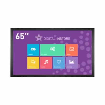 Ecran tactile 65 pouces interactif multitouch
