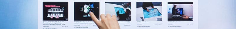 Support iPad de comptoir digital