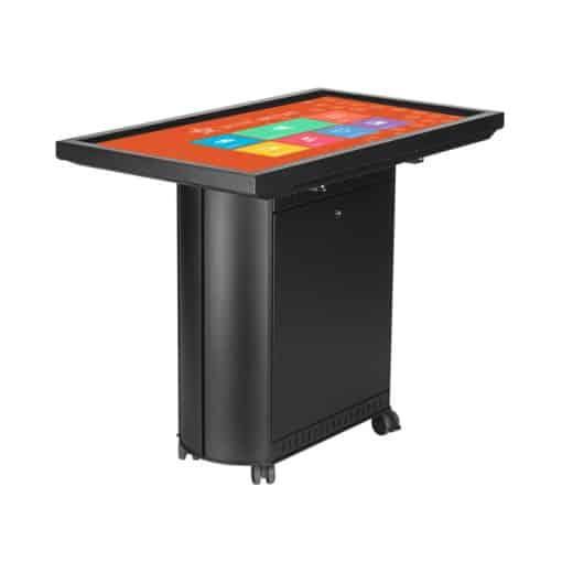 Table tactile 43 pouces interactive multitouch noir