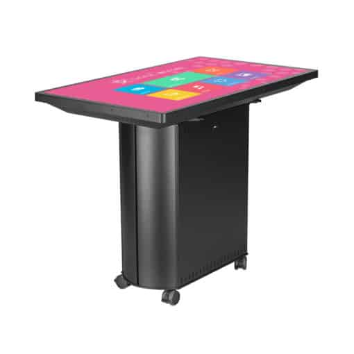 Table tactile 49 pouces interactive multitouch noir