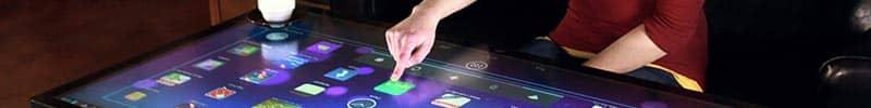 Totem tactile 46 pouces interactif