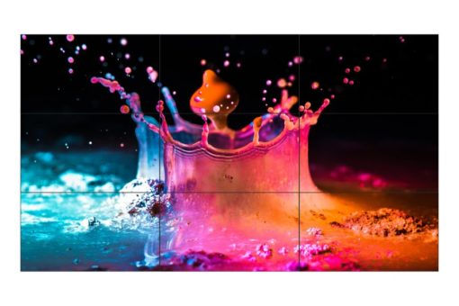 Mur d'images 55 pouces bord ultra fin