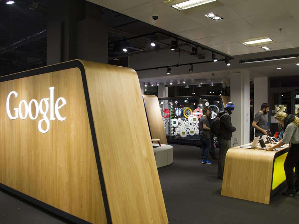 Magasin tactile Google