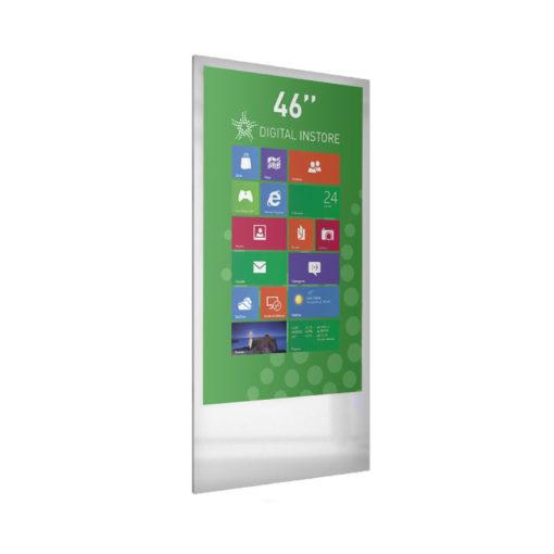 Totem digital 46 pouces magasin et point de vente