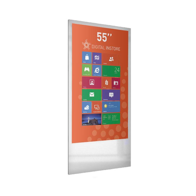 totem interactif tactile digital 55 pouces