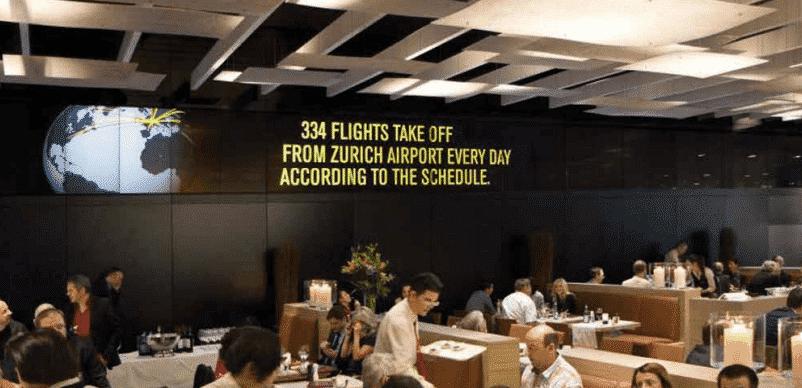 Suisse : Une expérience visuelle inédite à l'aéroport de Zurich