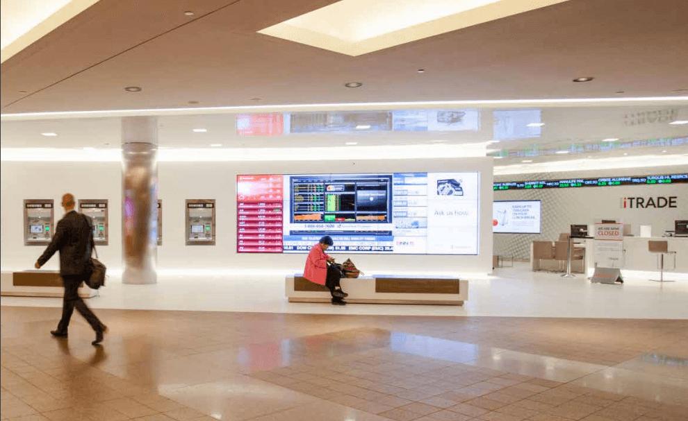 Scotia Plaza Canada affichage numérique