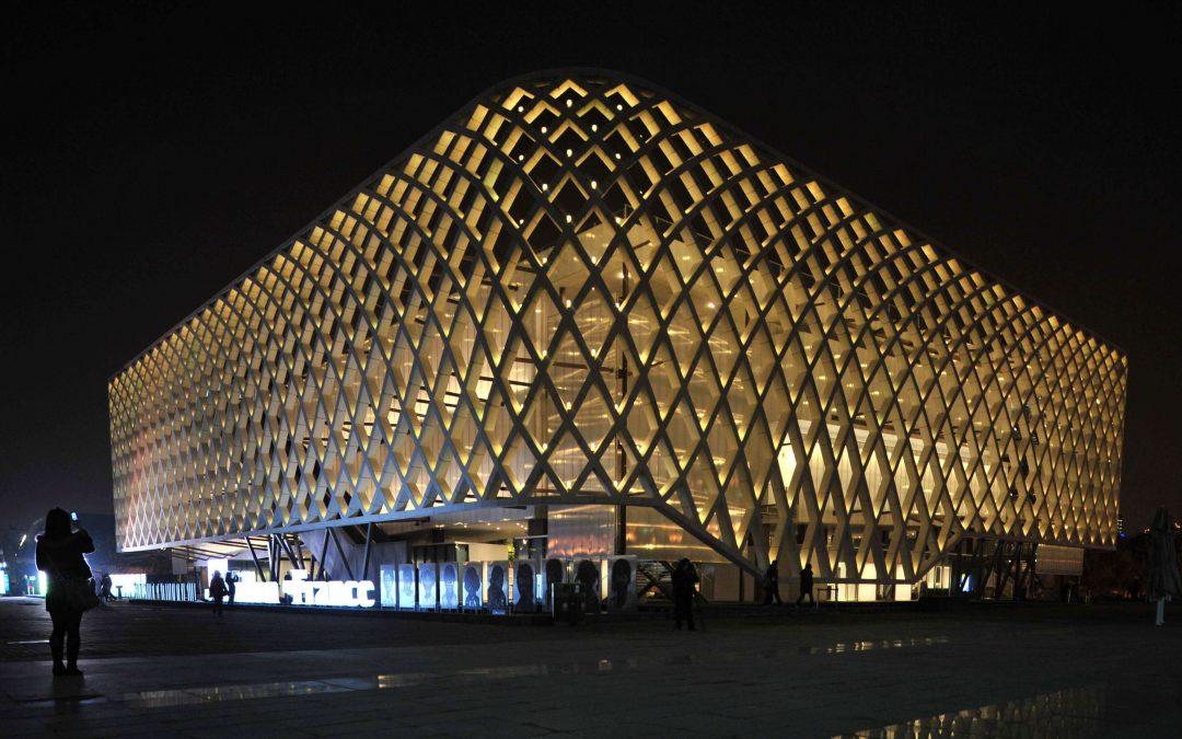 Chili : Précurseur de la technologie multitouch à l'exposition universelle de Shanghai