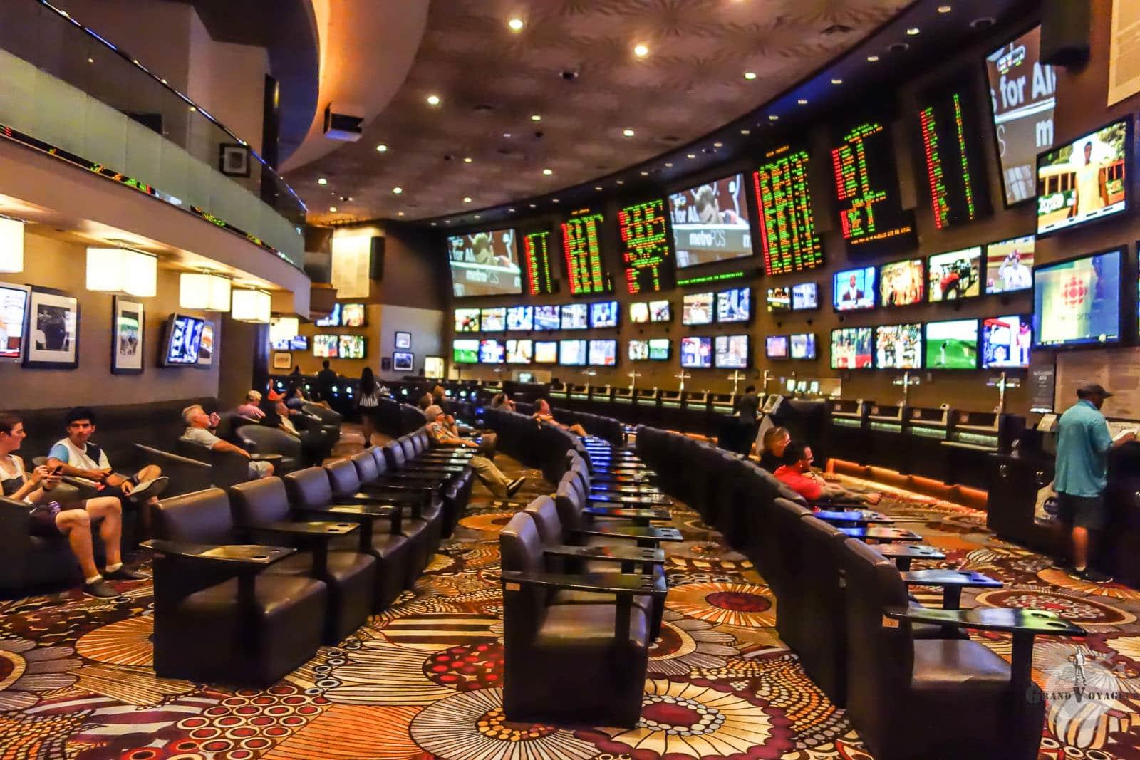 Salle Paris Sportifs MGM Grand Las Vegas