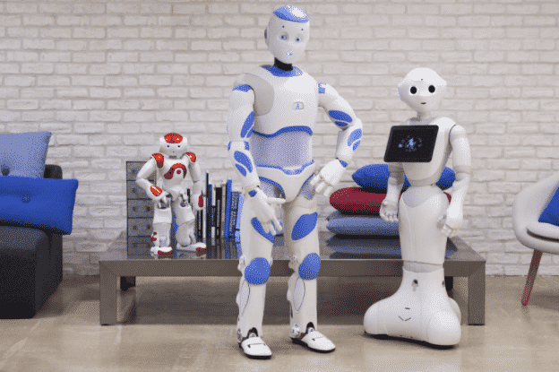Robots digitalisation point de vente