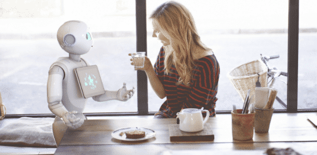 Robots magasin connecté