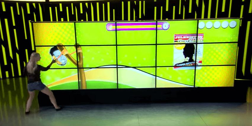 Wall TV show écran tactile