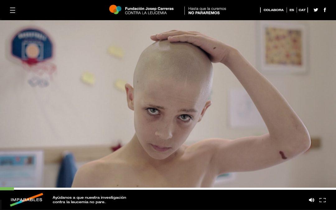 Espagne: l'affichage dynamique pour soutenir le combatcontre la leucémie