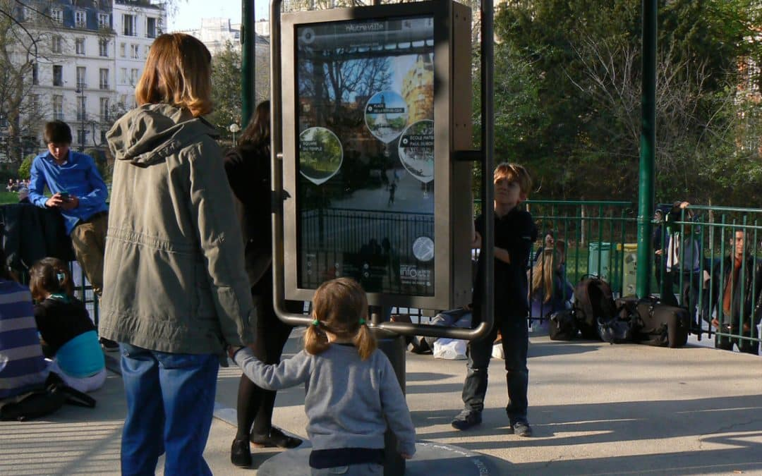 Le mobilier urbain au service des points de vente