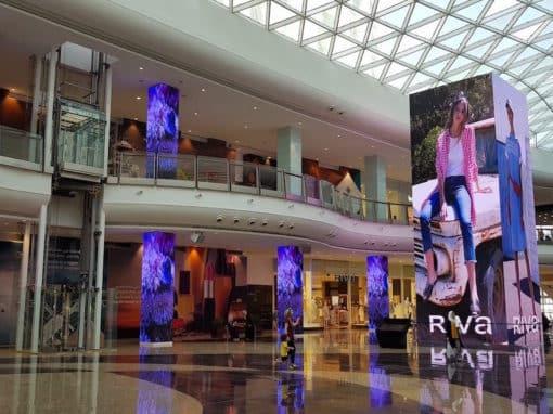La technologie LED pour communiquer hors de son point de vente à Oman