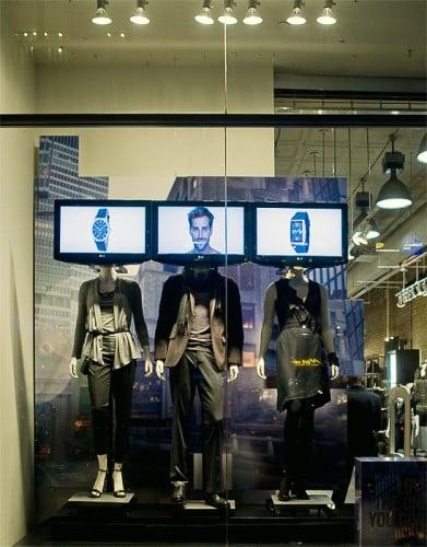 La boutique Kenneth Cole, un des meilleurs exemples de magasins connectés