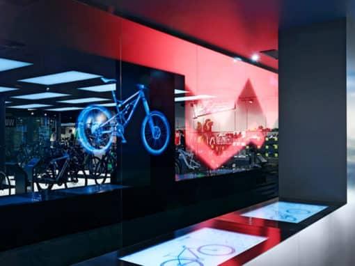 Configurer le vélo de ses rêves au showroom RoseBikes à Munich
