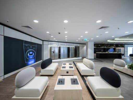 Samsung et son showroom expérientiel de Madrid