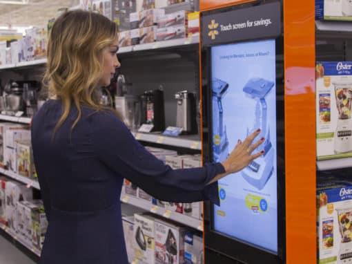 La technologie libère les clients de Walmart des articles encombrants