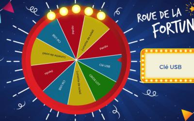 La borne interactive fidélise par le jeu-concours