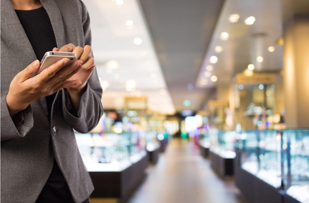 Digitalisation, dispositifs interactifs secteur luxe