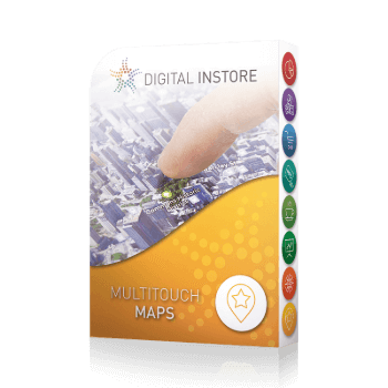 application tactile interactive maps