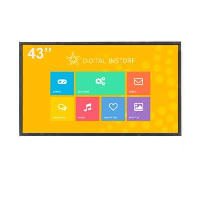 ecran tactile 43 pouces interactif digital