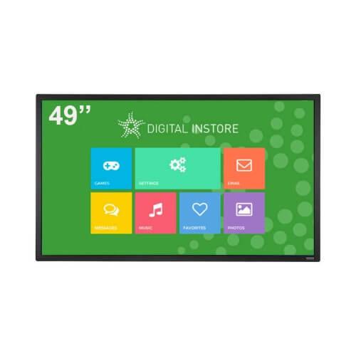 ecran tactile 49 pouces interactif digital