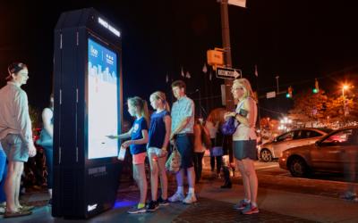 Columbus offre gratuitement le Wi-Fi avec ses kiosques interactifs