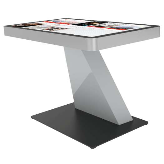 Table digitale multitouch location application