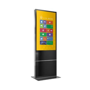 totem tactile interactif digital multitouch