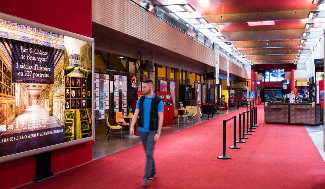 Cinéma digitalisé affichage dynamique