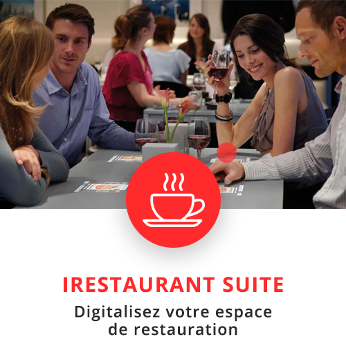 application tactile interactive catering