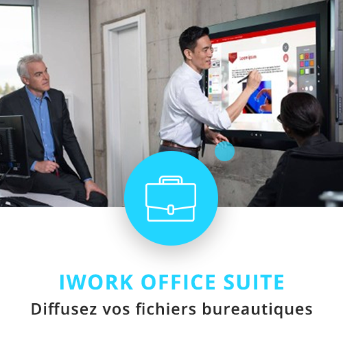 application tactile interactive office suite