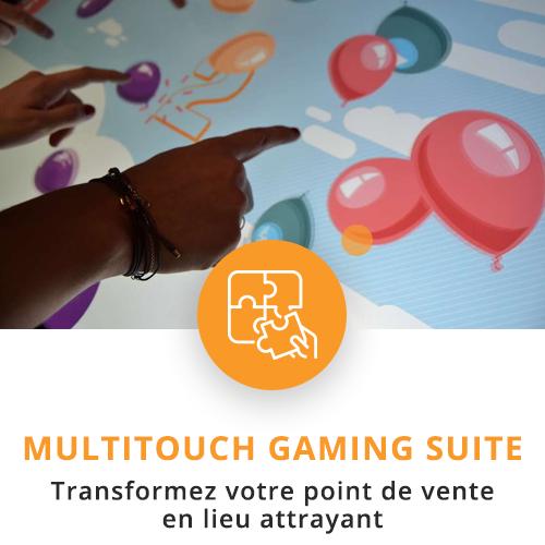 application tactile interactive gaming